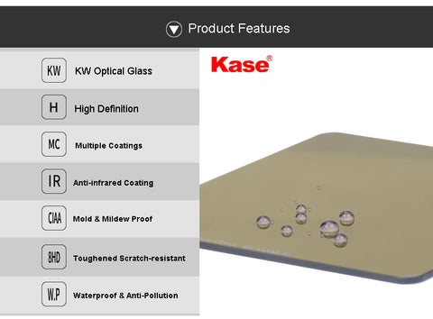 Kase K100 Wolverine Neutral Density Filter Features