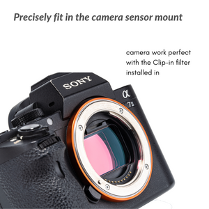 Sony Alpha Clip-in Filters