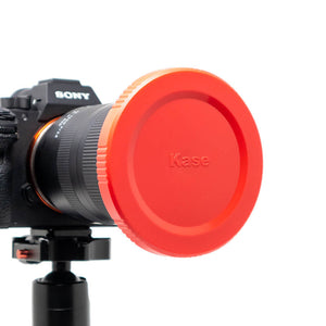Kase K9 90mm Red Lens Cap (3 pack)