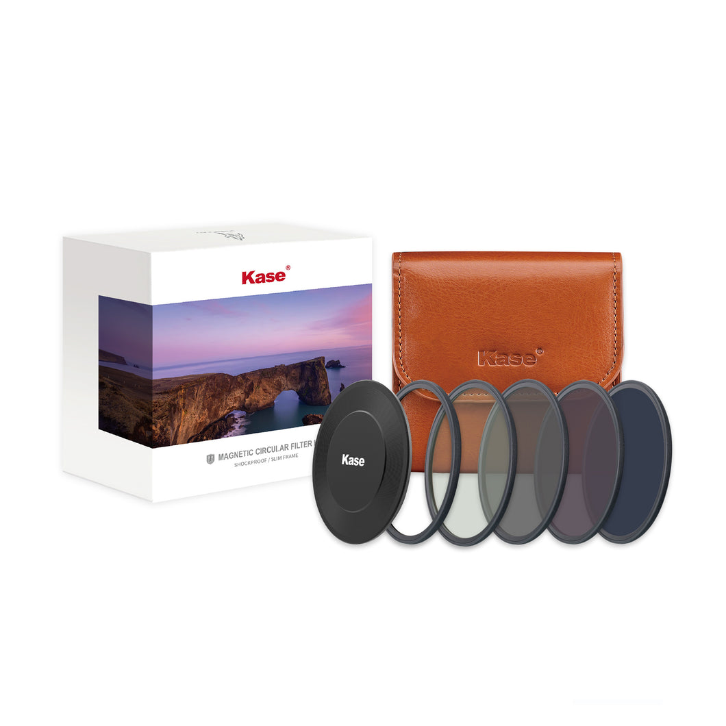 Kase Wolverine Magnetic Circular Filters Professional ND Kit