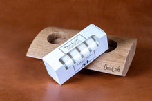 Load image into Gallery viewer, Oak Barn Craft tea light holder with a set of tea lights - resting