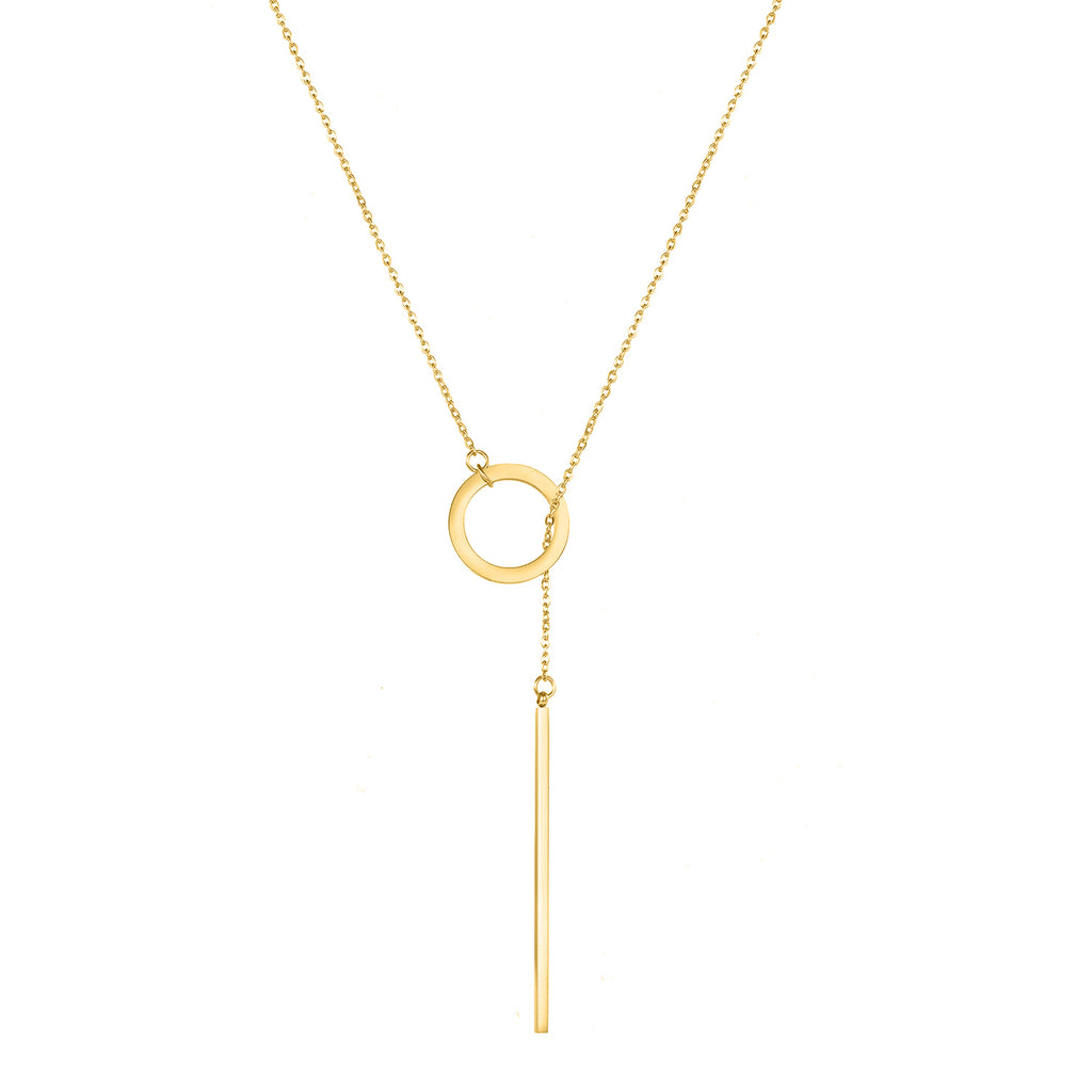 MEADOW MINIMAL GOLD NECKLACE