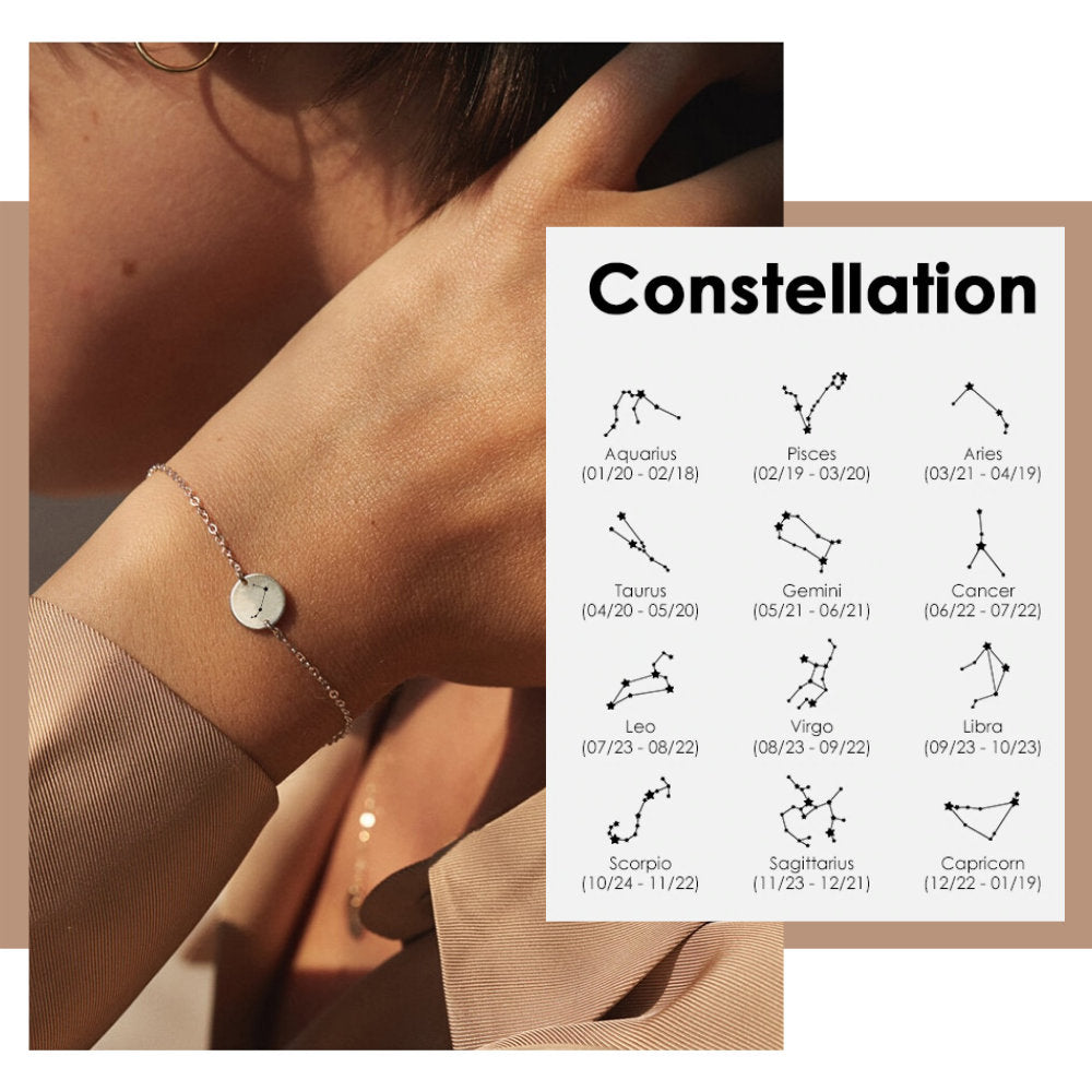 ZODIAC SIGN BRACELET CONSTELLATION - Ora Gift