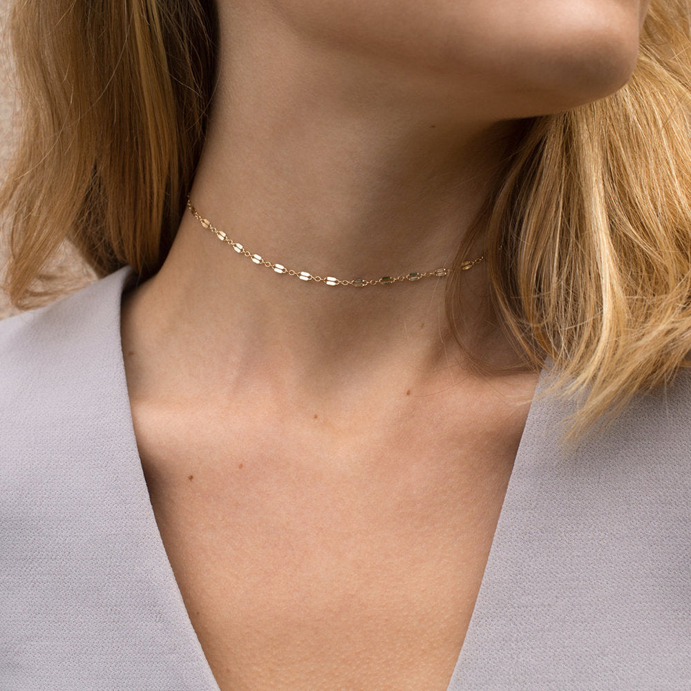AESTHETIC BAR CHOKER LAYERED NECKLACE SET - Ora Gift