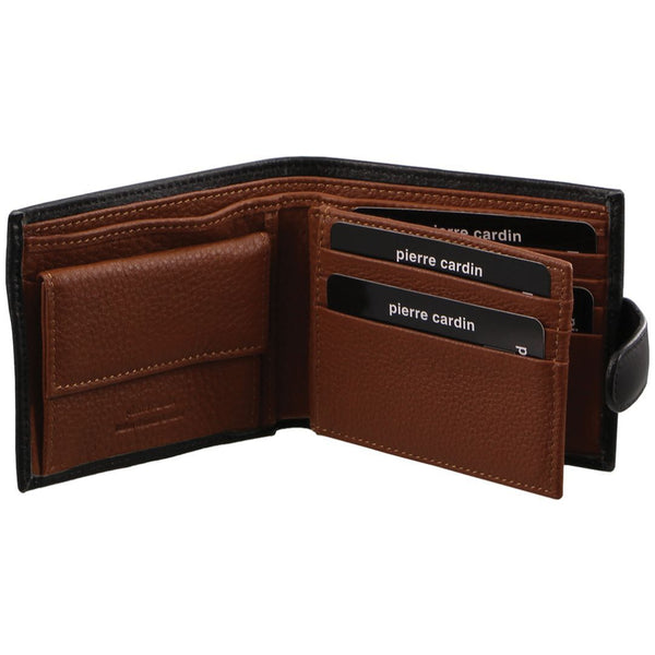 Pierre Cardin Italian Leather Mens Two Tone Wallet (PC2631)