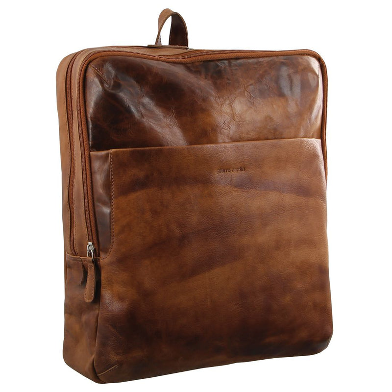 Pierre Cardin Rustic Leather Backpack (PC2799)