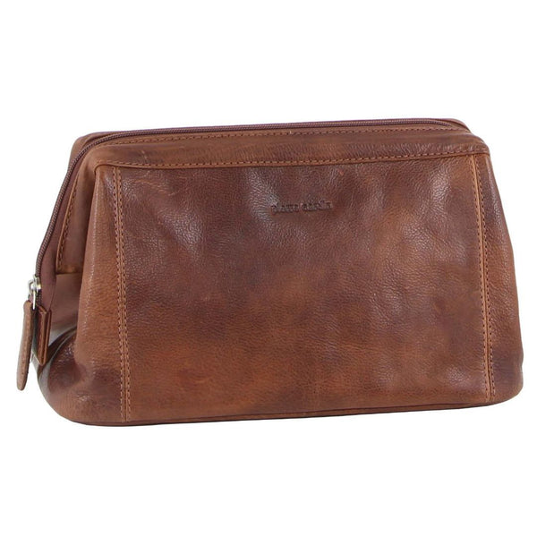 Pierre Cardin Rustic Leather Toiletry Bag (PC2803)