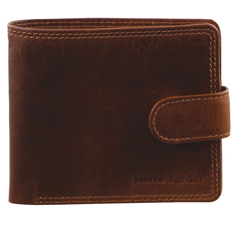 Pierre Cardin Rustic Leather Mens Wallet (PC2813)
