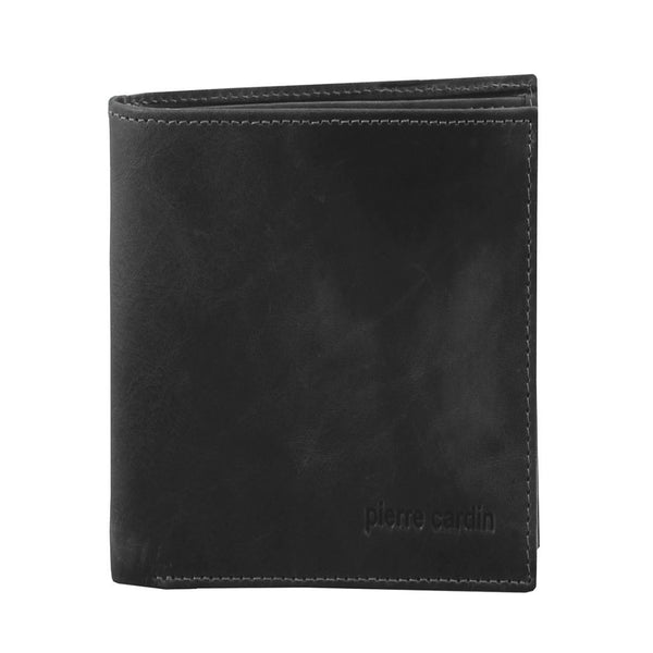 Pierre Cardin Rustic Leather Tri-Fold Mens Wallet (PC2817)