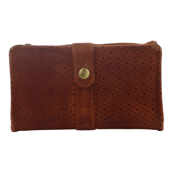 Pierre Cardin Perforated Leather Womens Wallet (PC3118)