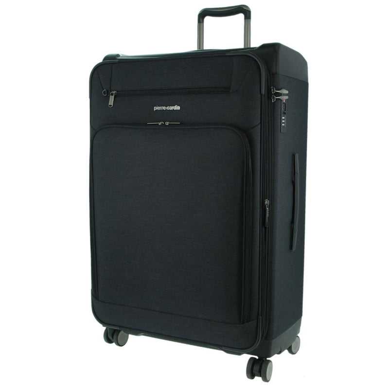 Pierre Cardin 66cm MEDIUM Half Hard/Half Soft Luggage (PC3167M)