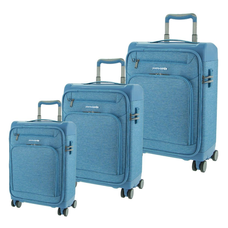 Pierre Cardin Half Hard/Half Soft Luggage - SET OF 3 (PC3167)