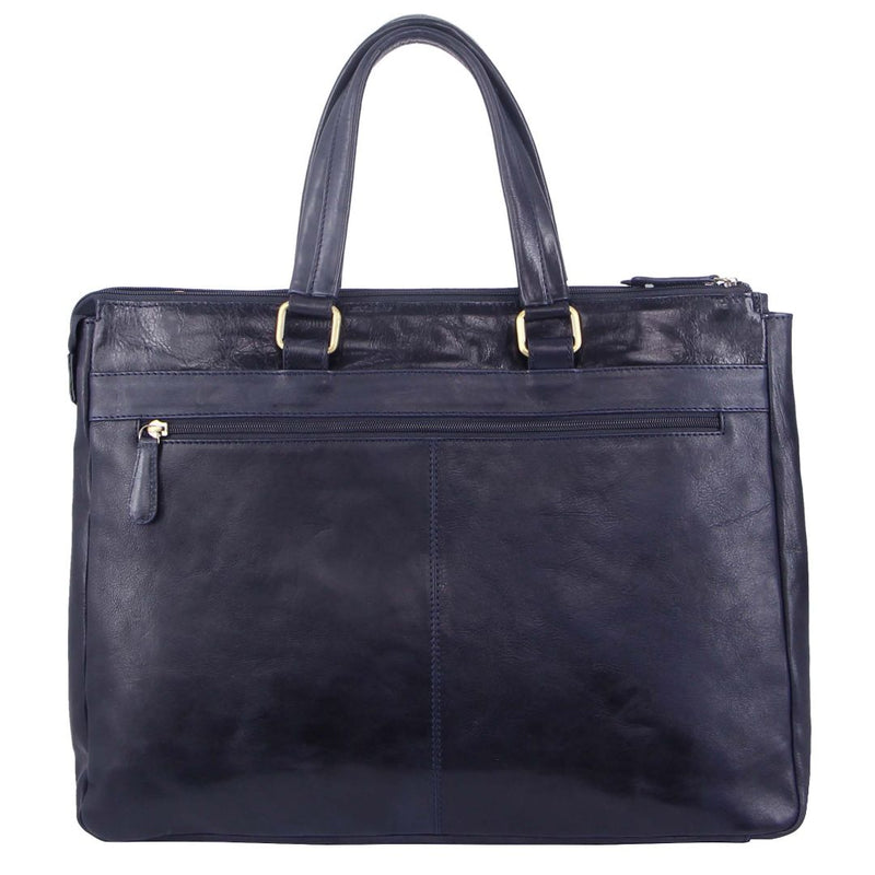 Pierre Cardin Rustic Leather Computer/Business Bag (PC3220)