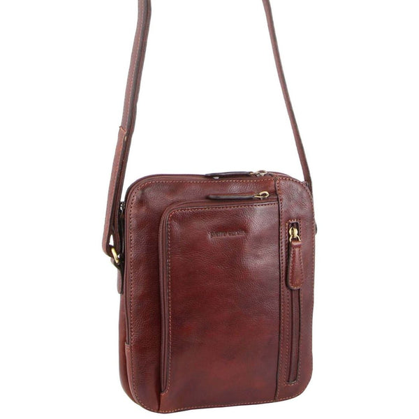 Pierre Cardin Rustic Leather Cross Body Bag (PC3230)