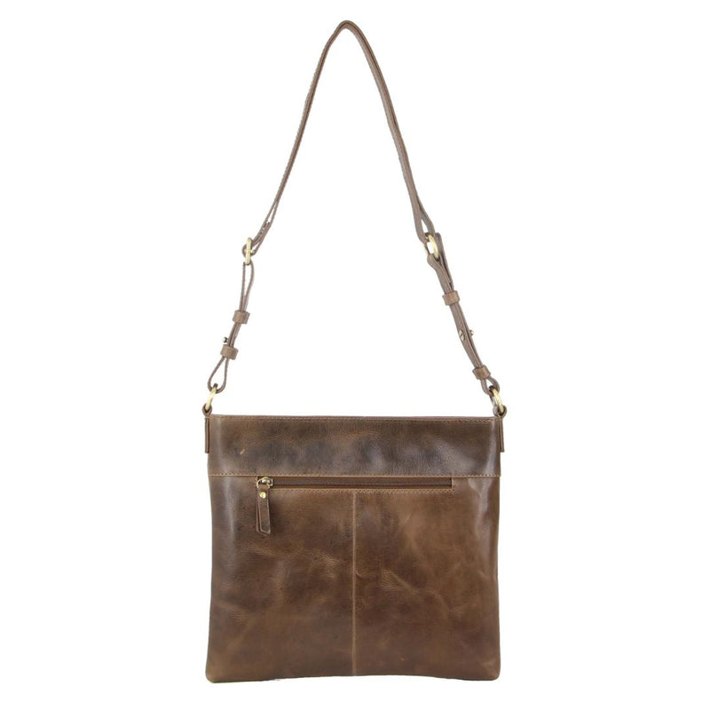 Pierre Cardin Rustic Leather Cross Body Bag (PC3245)