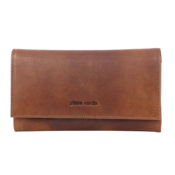 Pierre Cardin Rustic Leather Ladies Wallet (PC8785)