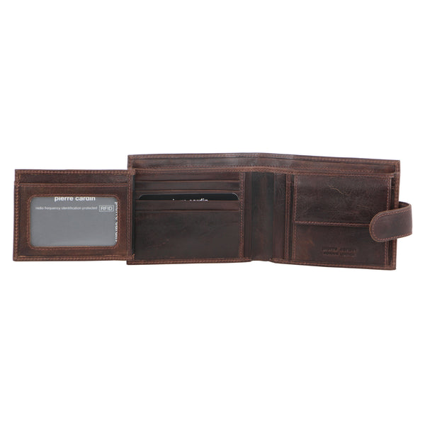 Pierre Cardin Italian Leather Tab Wallet (PC8874)