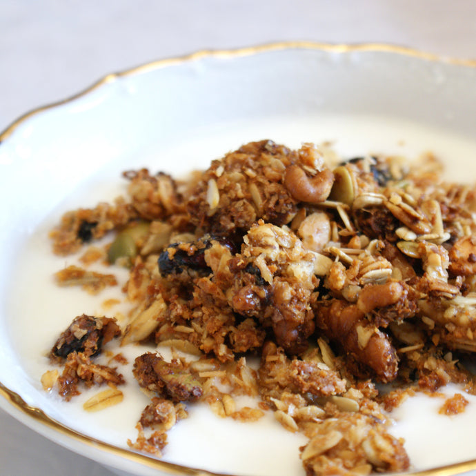Nut Lovers Honey Granola