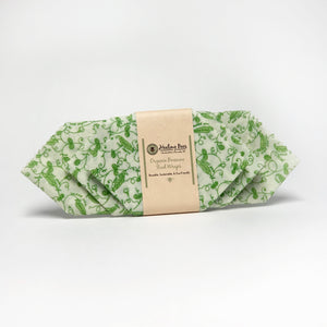 Healing Bees Natural Skincare - Organic Beeswax Food Wraps.  made with organic cotton, organic beeswax