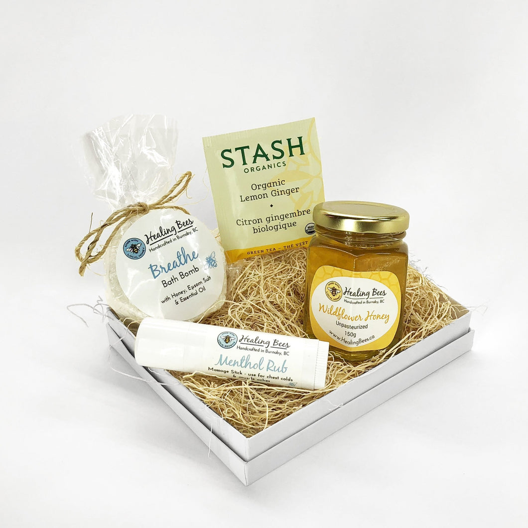 Healing Bees Natural Skincare - Cold Rescue Basket