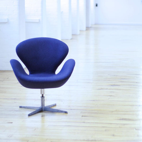 The Swan chair by Arne Jacobsen