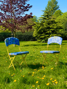 BBC One 'Money for Nothing' Outdoor Metal Chairs