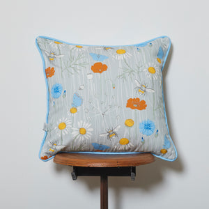 Cornish Wildflower Cushion