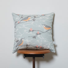 Load image into Gallery viewer, Nuthatch and Larch Cushion