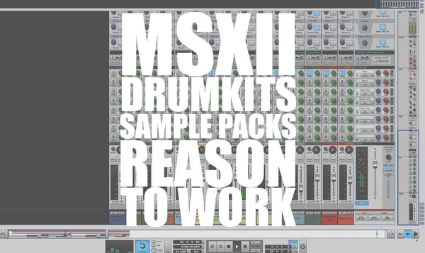 MSXII Drumkits And Sample Packs Tutorial