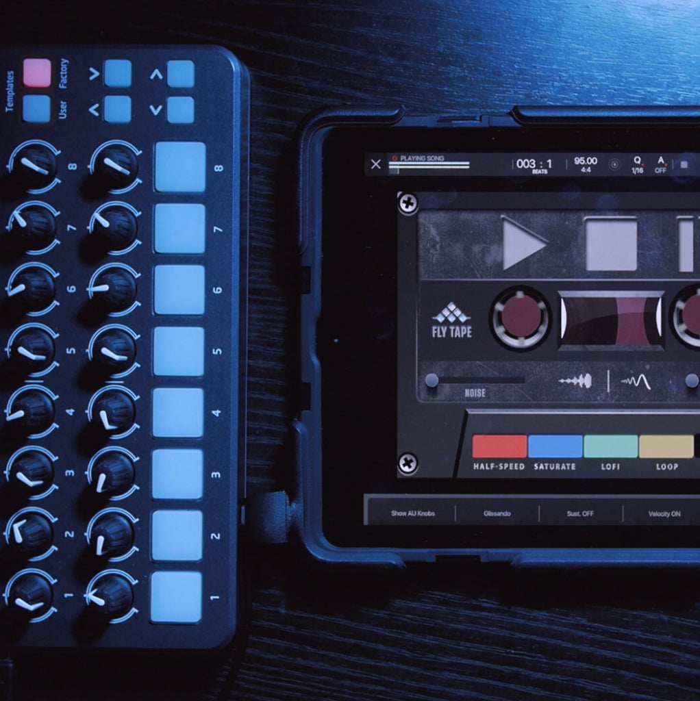 Map Fly Tape & Lo-Fly Dirt to an External Midi Controller in