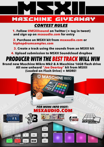 The Maschine Giveaway