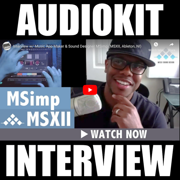 Simp Speaks On the Future of iOS Music Making, Upcoming MSXII Apps, and More
