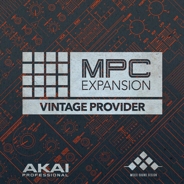 The Vintage Provider MPC Expansion from MSXII and Akai Pro
