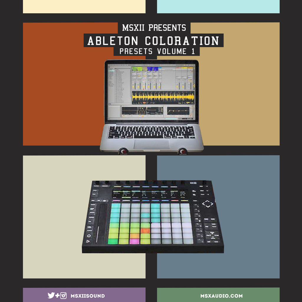 Ableton Coloration Presets vol. 1