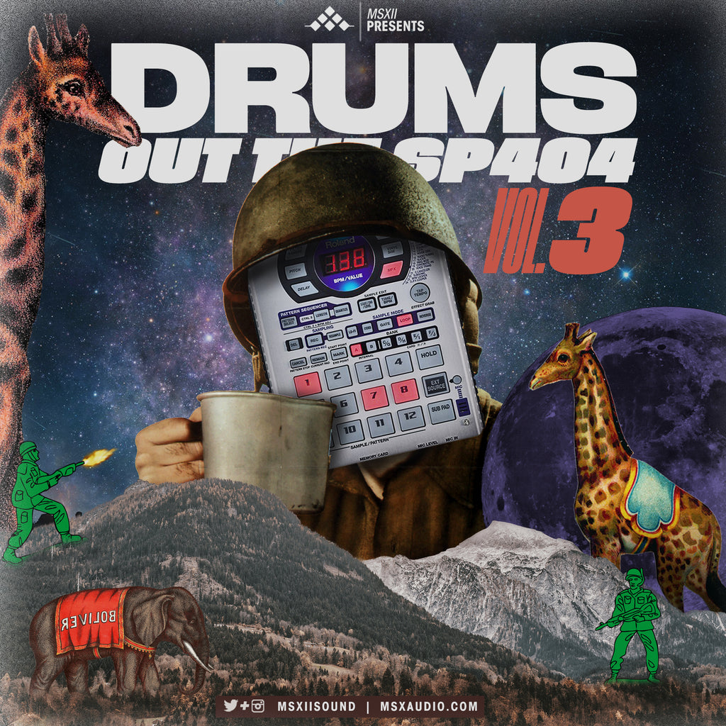 Drums Out The SP404 Vol. 3