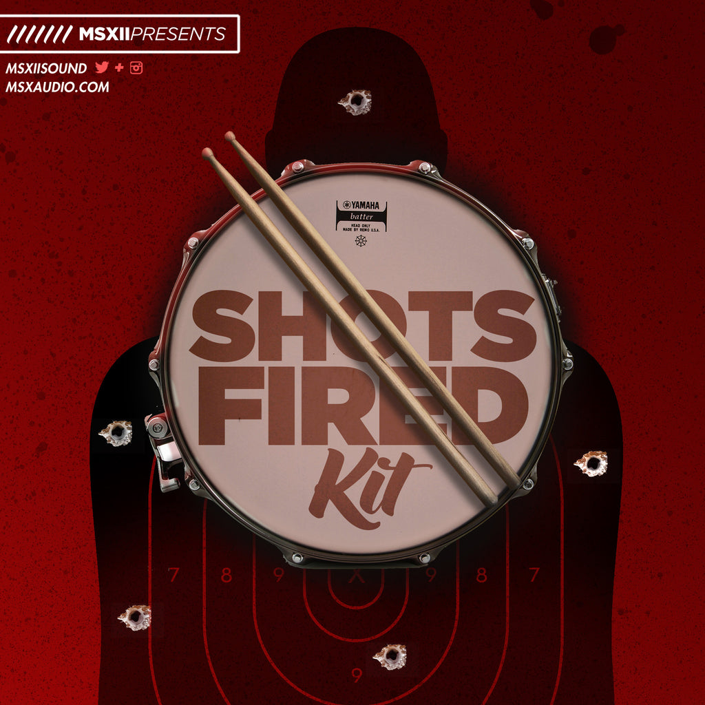 Shots Fired Drum Kit