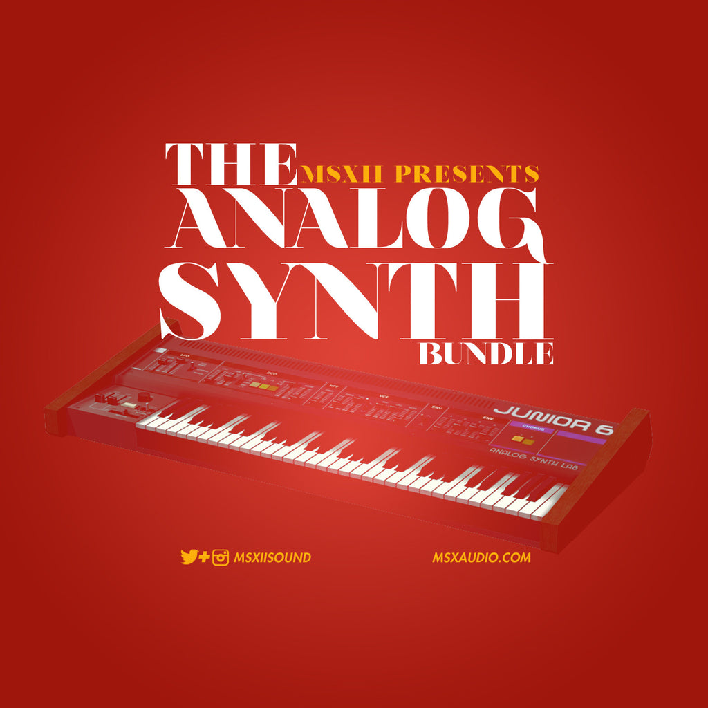 The Analog Synth Bundle