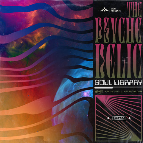Psychedelic Soul 2 - Psychedelic Guitar Samples Loop Pack