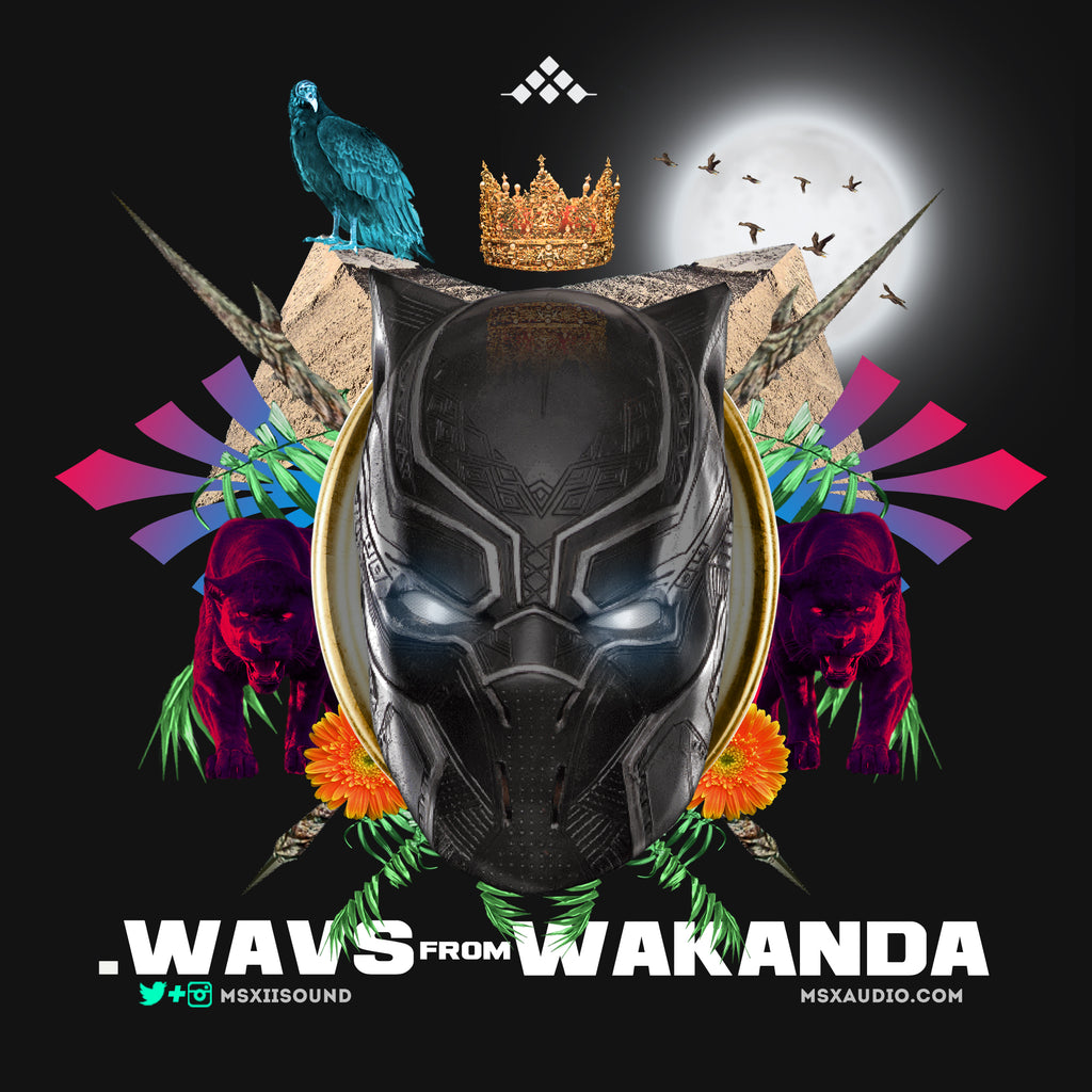 Wavs from Wakanda - Drums and Percussion
