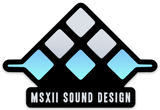 MSXII Sound Design Stickers