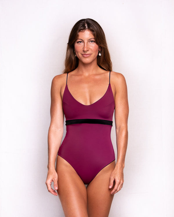 Kiša Swimwear One-Piece • Merlot