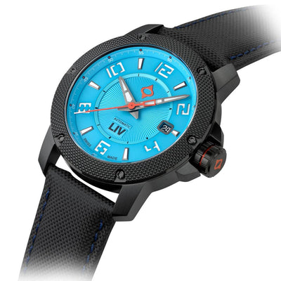LIV GX1-A T.J. Blue - LIV Swiss Watches