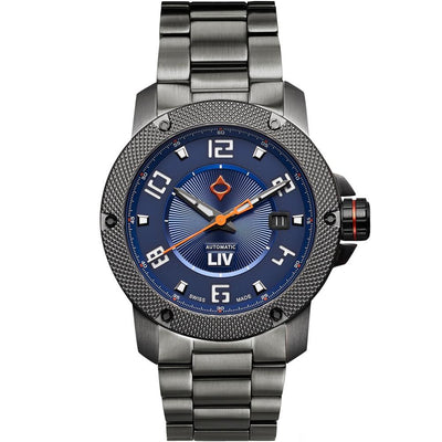 LIV GX1-A Cobalt - LIV Swiss Watches