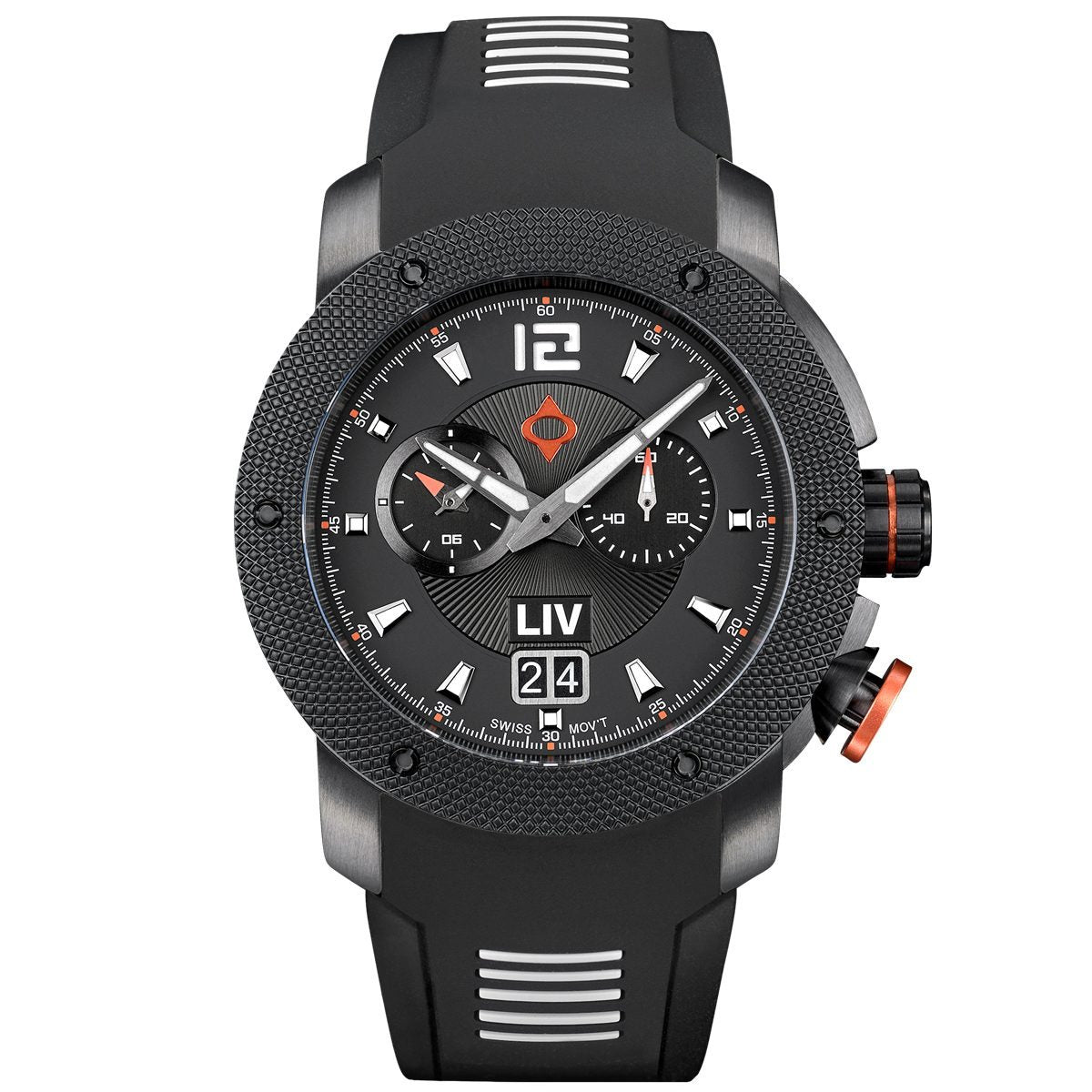 Swiss-Made GX Quartz Alarm by LIV Watches