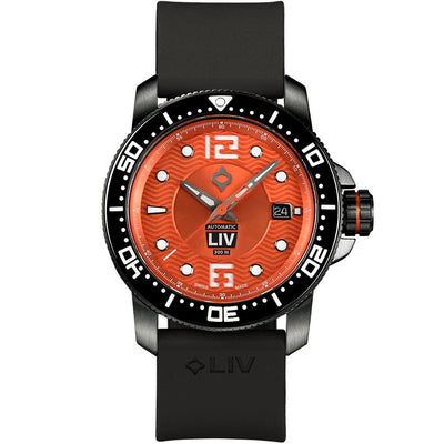 LIV Diver's 41mm Harvest Moon - LIV Swiss Watches