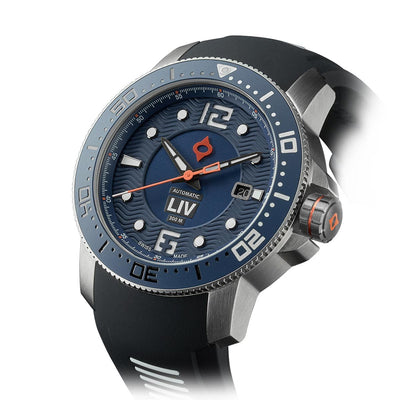 44MM LIV GX Ceramic Diver's Steel Cobalt
