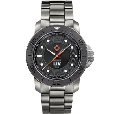 44MM LIV GX Ceramic Diver's Gray Gray