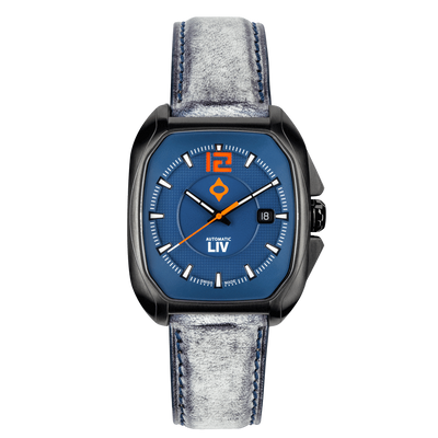 LIV Rebel-A Cobalt - LIV Swiss Watches