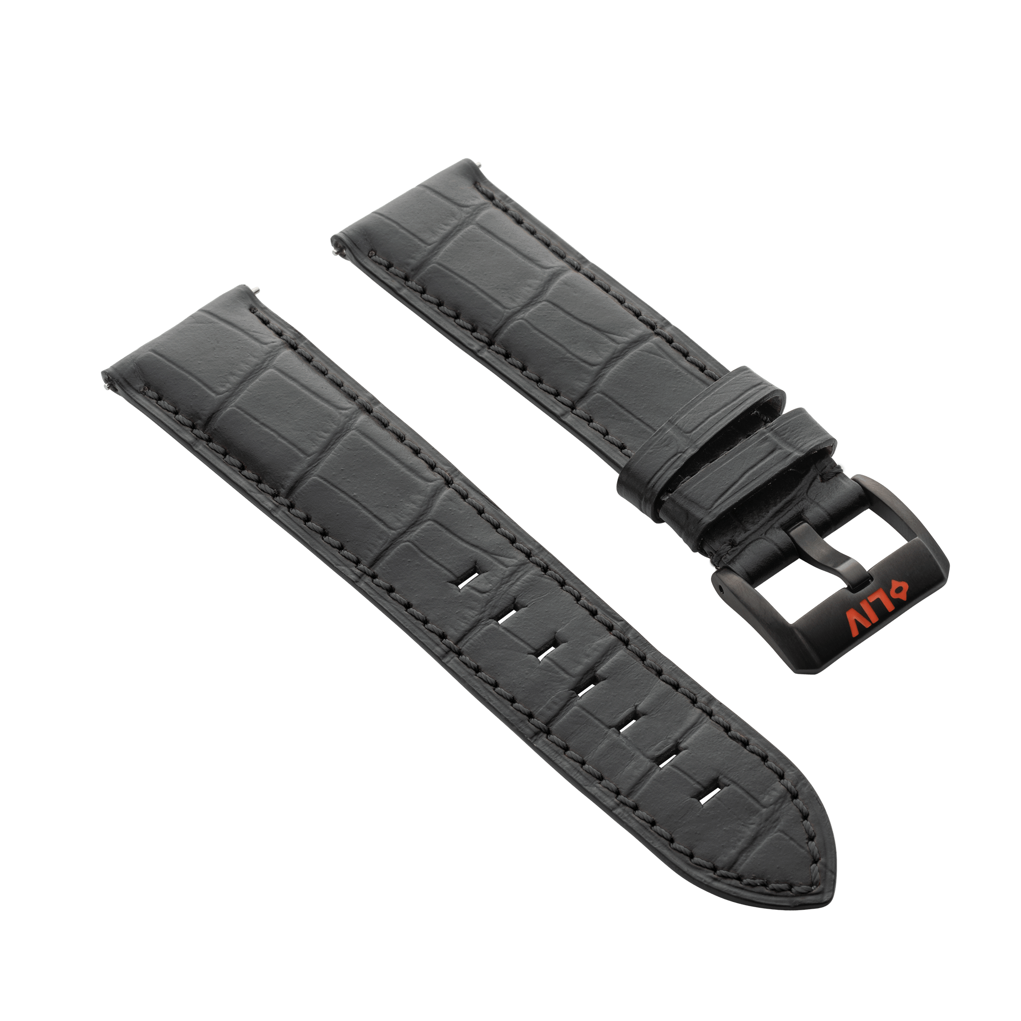 Alligator Grain Leather | 23mm - LIV Swiss Watches