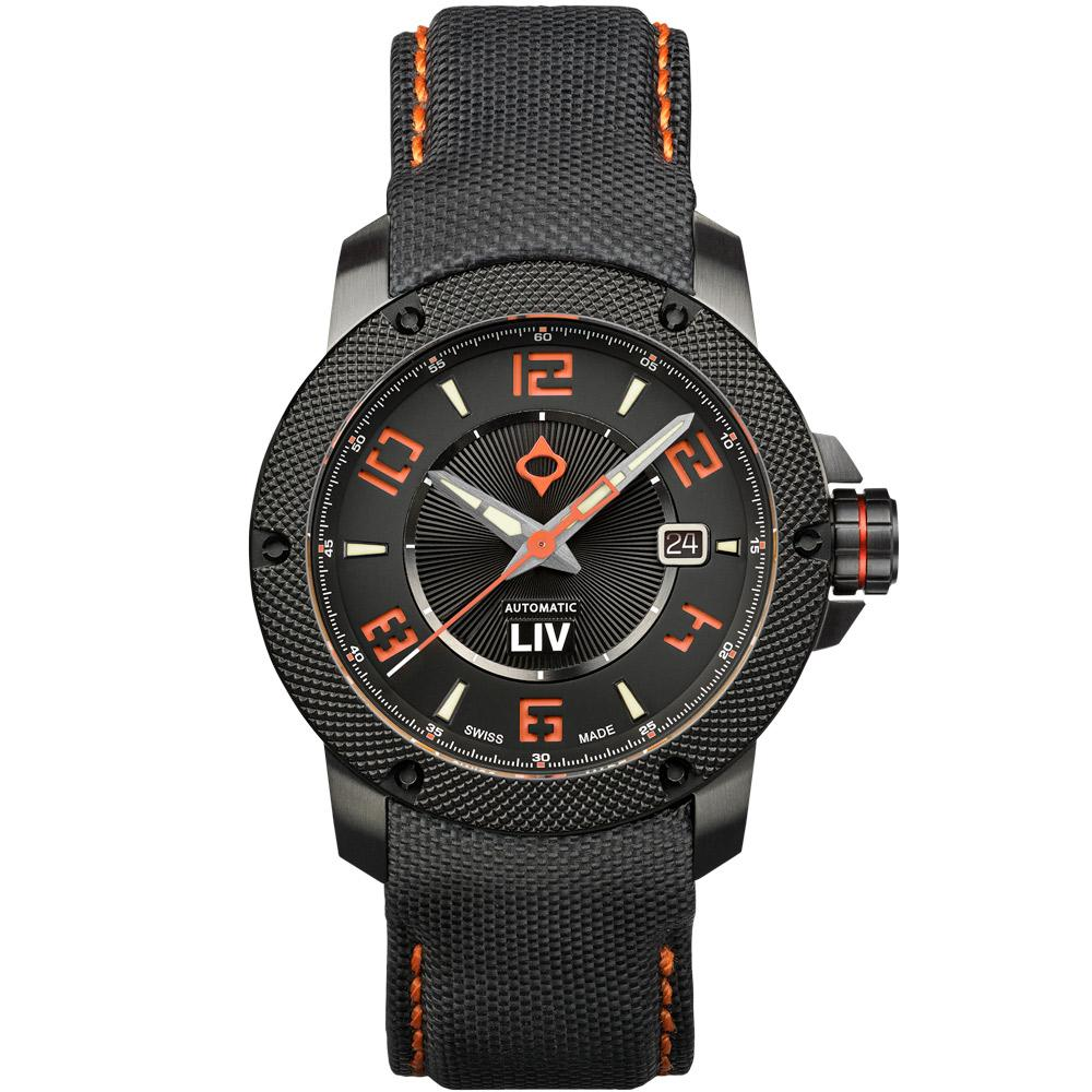 LIV GX1-A Signature Orange - LIV Swiss Watches